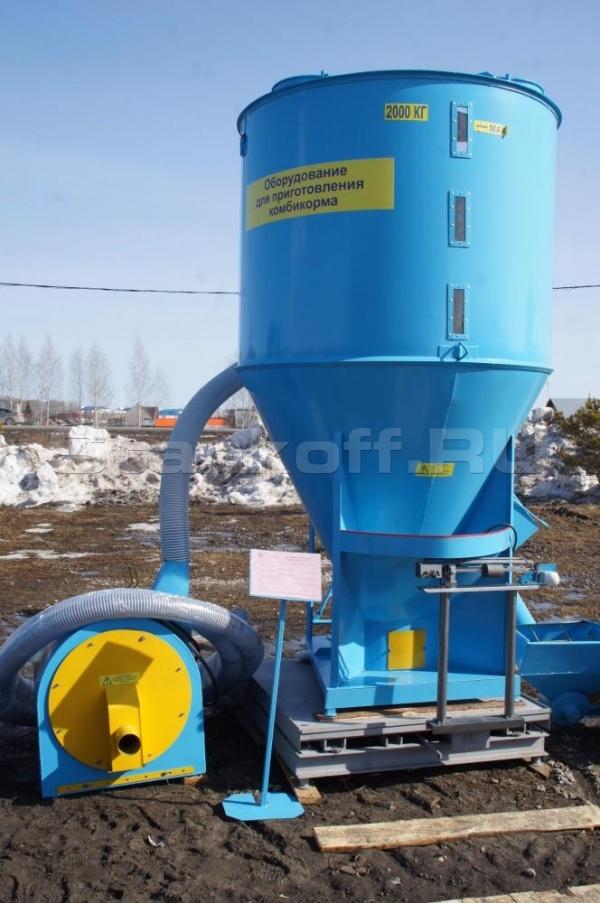 Комбикормовый мини-завод КМЗ-2
