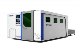 Оптоволоконный лазер для резки листов и труб в защитной кабине TC-P3015T/4000 IPG