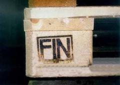 Клеймо для паллет FIN