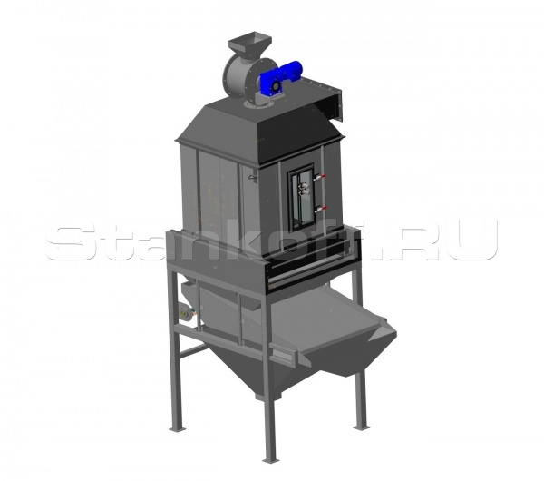 Колонна охлаждения гранул СО 700