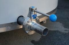 Охладитель молока вертикального типа ОМВТ-8000