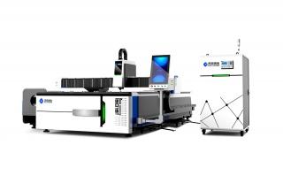 Оптоволоконный лазерный станок для резки листов металла и труб TC-F3015T/3000 IPG
