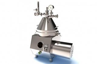 Сепаратор сливкоотделитель с ручной выгрузкой РОТОР-ОСРП-3Н