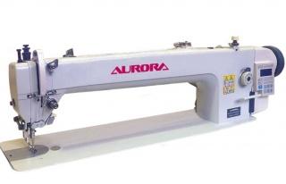 Прямострочная промышленная швейная машина с шагающей головкой и прямым приводом Aurora A-0302-560-D4