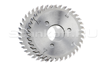 Пила дисковая твердосплавная пазовая DEKOR 150*35*4,0/3 z30 F