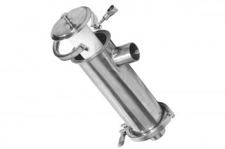 Рассольный фильтр тонкой очистки AISI 316