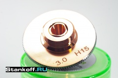 Двойное сопло оригинальное 1 мм Raytools GJT0610 для лазерного станка по металлу