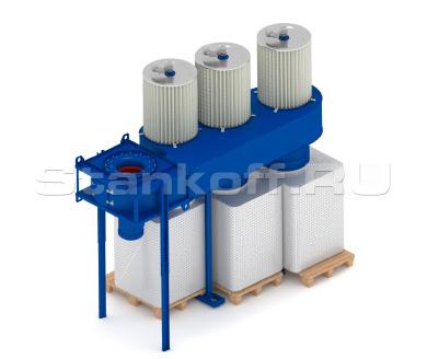 Рециркуляционный пылеулавливающий аппарат ФЦ-12000