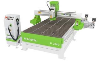 Фрезерно-гравировальный станок с ЧПУ WoodTec H 2040