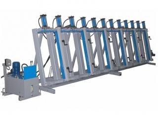 Пресс гидравлический для щита и бруса SL200-9GM
