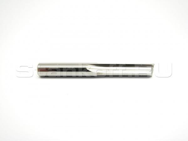 Прямая концевая двухзаходная фреза N2ZX3.12