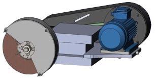 Головка шлифовальная для токарного станка ВГР-300TCG125