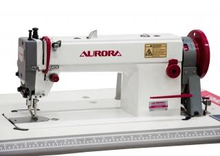 Прямострочная промышленная швейная машина с шагающей лапкой Aurora A-0302E