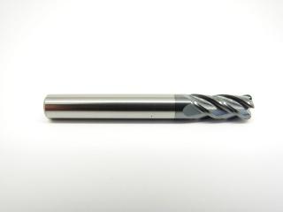 Фреза спиральная четырехзаходная радиусная по металлу с покрытием AlTiN NSYLX6R1