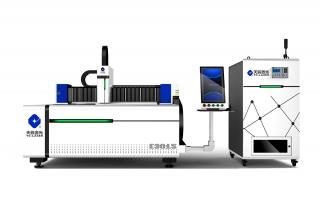 Оптоволоконный лазерный резак по металлу тяжелой серии со сменным столом TC-E3015/3000 Raycus