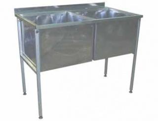 Ванна моечная двухсекционная ВМ-500-2