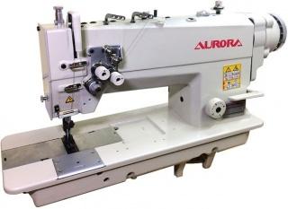 Двухигольная промышленная швейная машина AURORA A-842D-03 с прямым приводом