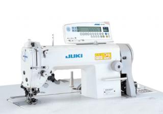 Прямострочная промышленная швейная машина с ножом обрезки края материала JUKI DLM-5400NF-7WB/AK85
