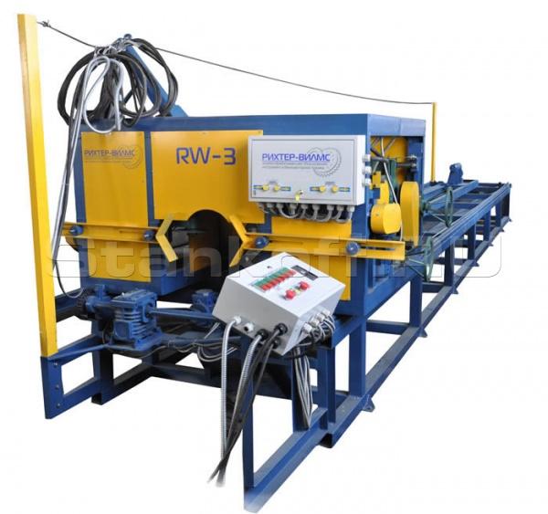 Станок для изготовления оцилиндрованного бревна RW-3