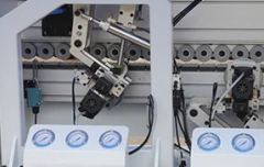 Кромкооблицовочный автоматический станок HH-406R