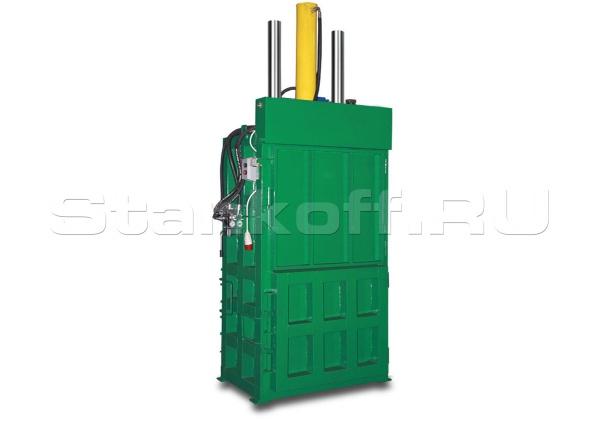 Пакетировочный пресс для витой металлической стружки, обрезков, алюминиевых и жестяных банок ПВТ-425
