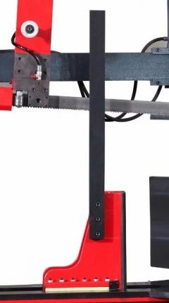 Полуавтоматический двухколонный ленточнопильный станок KMT 700 KDG