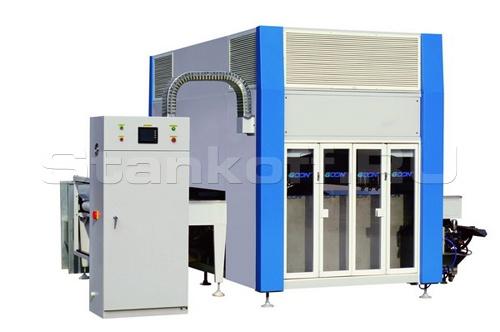 Автоматический проходной окрасочный станок SP 1300