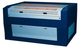 Установка для лазерной резки и гравировки ST-1612, 80W