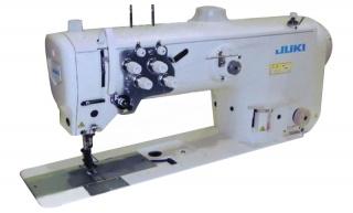 Двухигольная промышленная швейная машина с тройным продвижением JUKI LU-2860A