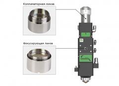 Оригинальная фокусирующая линза D30 F150 FLA30150/Me Raytools для оптоволоконных лазеров