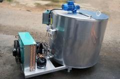 Охладитель молока вертикального типа ОМВТ-4000