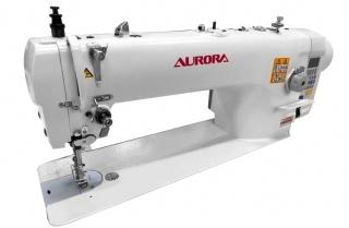 Промышленная швейная машина с унисонной подачей и увеличенным вылетом рукава Aurora A-9622 с прямым приводом и автоматическими функциями