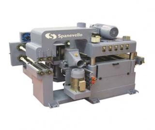 Автоматический строгальный станок для 4-сторонней обработки клееного бруса UNIVERSAL 600