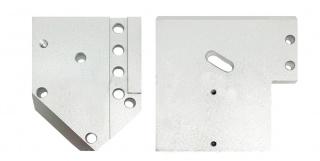 Кронштейн из двух плит для торцовочного узла KDT