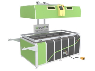 Пресс мембранно-вакуумный WoodTec PM-2500