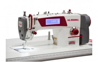 Прямострочная промышленная швейная машина с прямым приводом Aurora A-4EH