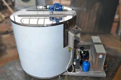 Молочный охладитель вертикального типа ОМВТ-20000