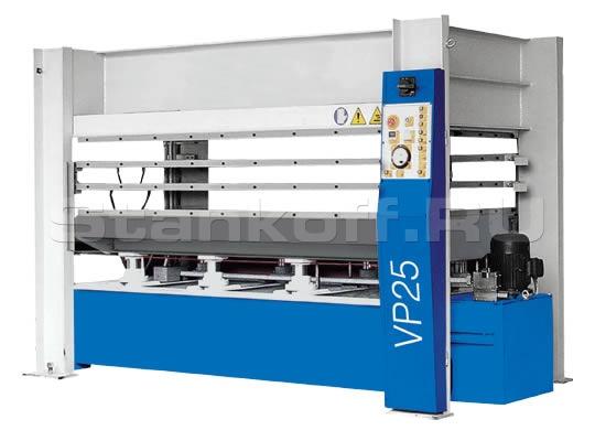 Горячий пресс для облицовывания плоских щитов Vario Press VP 25-120/5