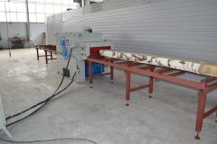 Двухвальный многопильный станок 2Ц16-400