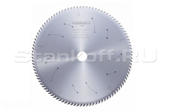 Пила дисковая твердосплавная универсальная GE 300*30*3,2/2,2 z72 WZ