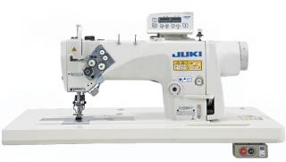 Двухигольная промышленная швейная машина с прямым приводом JUKI LH-3578AG-7/AK135