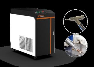Оптоволоконный аппарат лазерной сварки металла XTW-1000/IPG