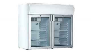 Холодильный шкаф двухдверный USS 190 D2KL