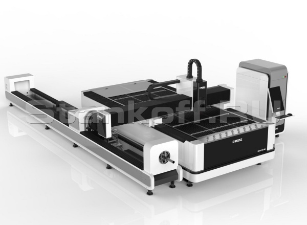 Оптоволоконный лазер с труборезным механизмом LF3015CNR/3000 Raycus