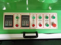 Рельефно-шлифовальный станок с 4 лепестковыми барабанами DT 1300-4
