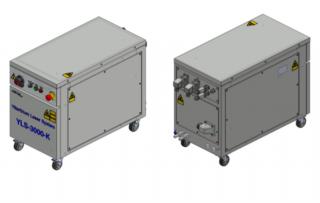 Иттербиевый волоконный лазер для резки металла ЛС-3-К