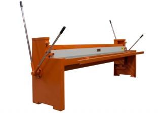 Гильотина механическая по металлу Q01-1.25х2000