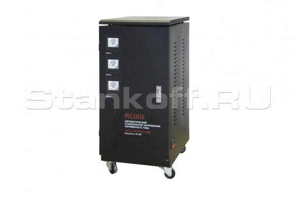 Стабилизатор напряжения трехфазный АСН-30000/3-ЭМ