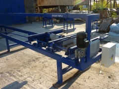 Торцовочный станок проходного типа Стилет ТСП-50/2-4000 (мультиторцовка)
