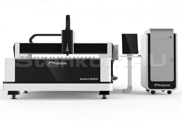 Оптоволоконный лазернный станок для резки металла ExtraCut CN3015/500 Raycus